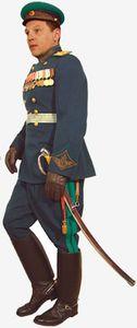 генерал в парадной форме 1945